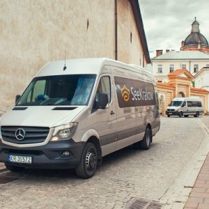 minivan private transfer for kraków