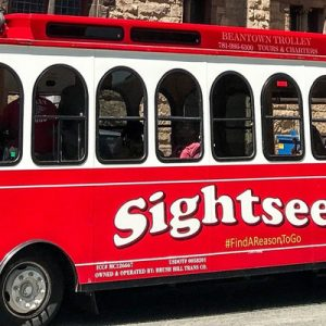 Red Beantown Trolley