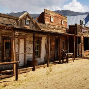 a ghost town in Arizona