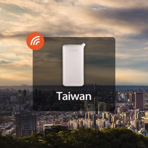 4g portable wifi in Taiwan
