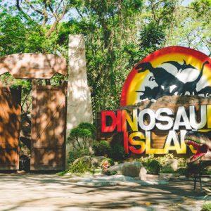 Dinosaurs Island Clark Admission Ticket