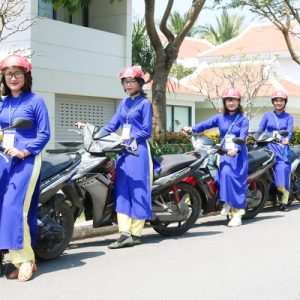 da nang street food aodai ride tour