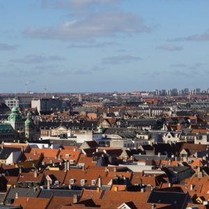 panoramic view of copenhagen