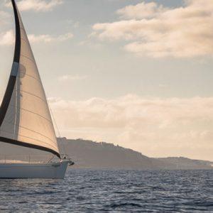 boat sailing on atlantic ocean