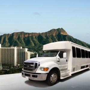 25 seat mini bus shared honolulu airport transfers