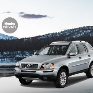volvo suv abisko private transfer