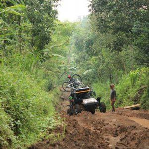 dirt road in bali