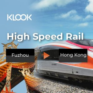 china high speed rail fuzhou to hong kong