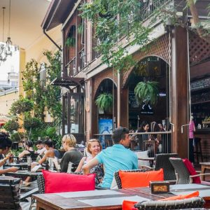 Buddy Beer Wine Bar and Grill in Khao San Road