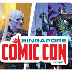 Singapore Comic Con banner