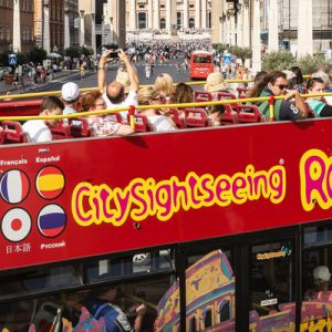 city sightseeing roma