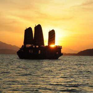 sunset cocktail and dinner the emperor cruise nha trang