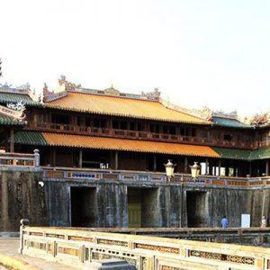 view of temple in vietnam