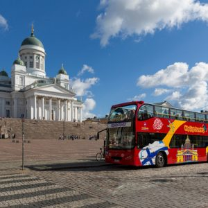 helsinki hop on hop off big bus tour