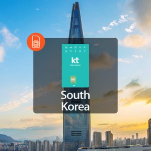4G SIM Card (KR Airport Pick Up) for South Korea