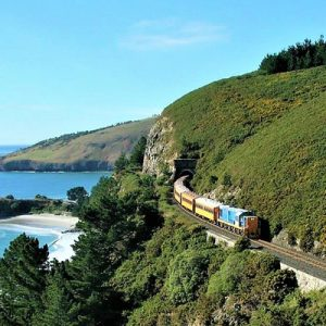 Taieri Gorge Railway from Dunedin