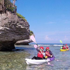 Liuqiu kayaking snorkeling experience