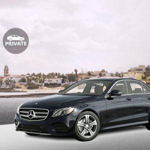 black car private transfer to fuerteventura airport