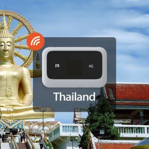 4G WiFi (BKK and DMK Airport Pick Up) for Thailand (Unlimited Data)