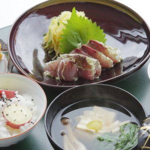 dishes for the cooking class in kanazawa japan