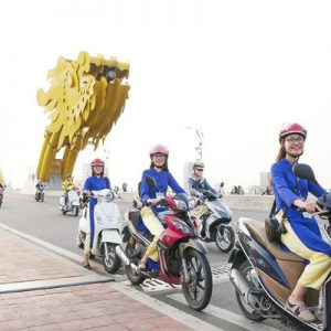 da nang city tour aodai rider