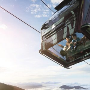 awana skyway cable car ride