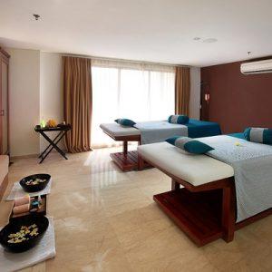 massage room at The Magani Hotel and Spa's Visala Spa