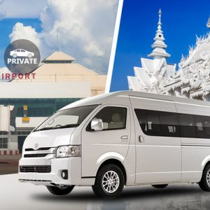 Private Chiang Mai International Airport Transfers (CNX) for Chiang Rai