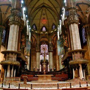 milan duomo altar