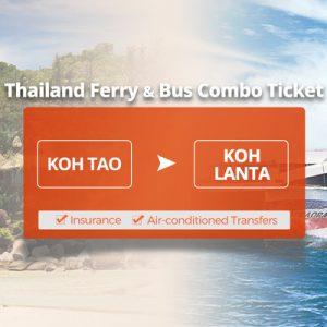 white ferry in transit in thailand