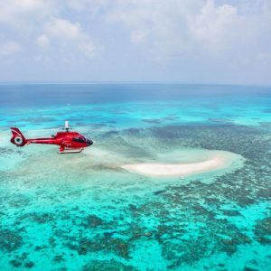 moore reef cruise and helicopter flight