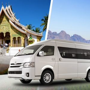 Shared City Transfers Between Vang Vieng