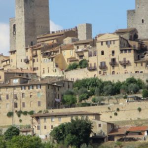 San Gimignano walled city
