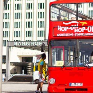 hop on hop off sightseeing bus pass berlin