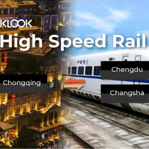china high-speed railway ticket chongqing
