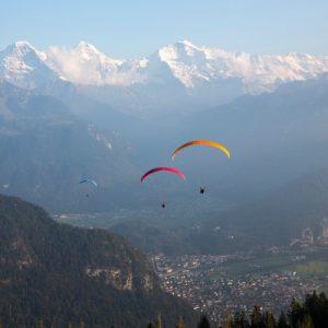 paragliding experience interlaken