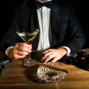 spy martini glass spy and espionage tour london