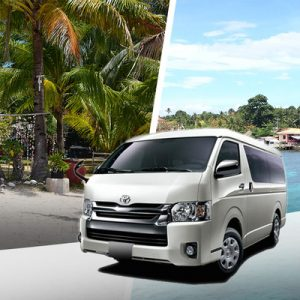 shared van transfers hagnaya port cebu city mactan