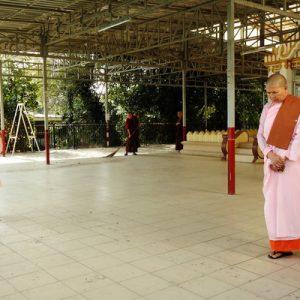 Mahasi Meditation Center Yangon Myanmar