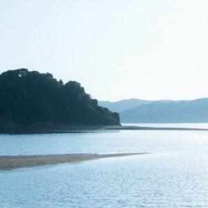 islands of Kuroshima Venus road with sandbar