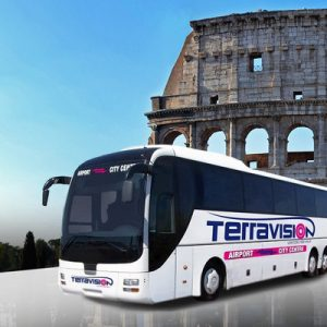 bus shuttle service for rome