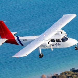 tasmania aeroplane tour