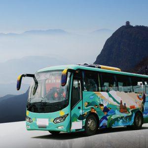 shared shuttle bus transfers chengdu mount emei