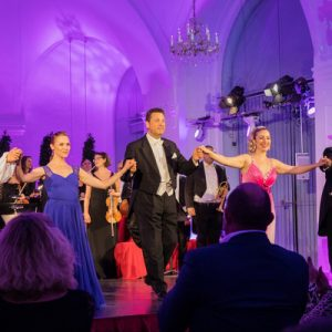 classical performers on stage
