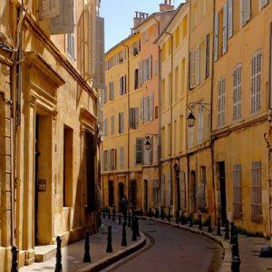street in aix-en-provence