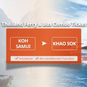 white ferry in thailand