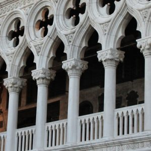 balcony in the Doge's Palace
