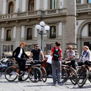 Bicycle tour around Florence