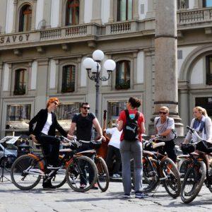 Bicycle tour around Florence