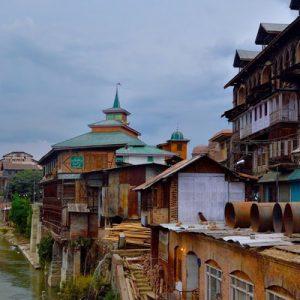 Srinagar town